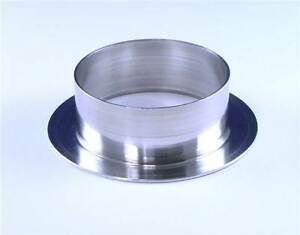 Revotec Aluminium Air Inlet / Outlet Flange For 76mm Ducting (AO76)