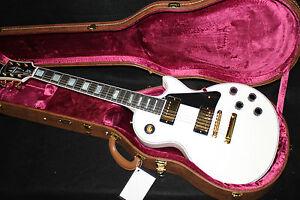 Gibson-Les-Paul-Custom-Antique-White-Electric-Guitar