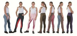 Shires-Maids-Childs-Two-Tone-Saddlehugger-Jodhpurs
