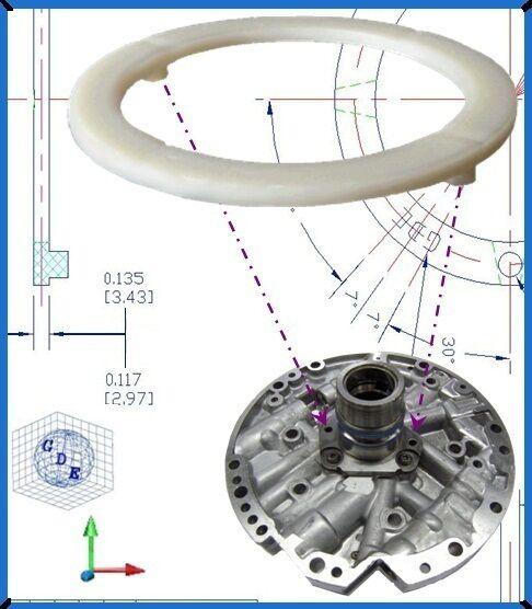 GM Pump Washer (UPDATE) CORVETTE SSR CAMARO FIREBIRD TRANS AM 700R4 4L60E 4L65E