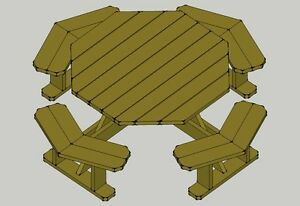 Traditional-Octagon-Picnic-Table-Plans-Easy-to-do-W-without-umbrella ...
