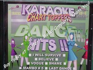 DANCE-Hits-Karaoke-Chart-Toppers-16-I-Will-Survive-Knock-on-Wood-CD-G