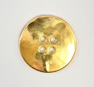 9942339-Porcelain-Jewellery-Pendant-Button-Gold-Wagner-amp-Apel-D6-5cm