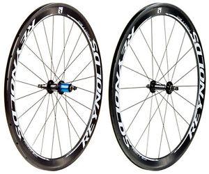 Reynolds-2012-Forty-Six-Carbon-Clincher-Road-Bike-Wheels-Wheelset-46mm-Rim-Depth