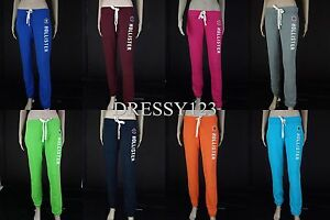 2012-Hollister-Abercrombie-Skinny-Banded-Sweatpants-Pant-Trouser-Women-039-S-XS-M-L