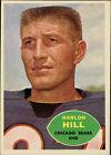 1960 Topps Harlon Hill Chicago Bears #16 Football Card