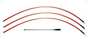 """18"""" Flexible & 3 DC 40 Long Range Antenna Combo for Garmin Astro 220 / 320 GPS"""