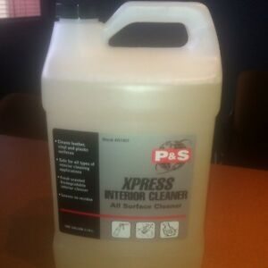 xpress auto interior cleaner leather vinyl plastic p and s 1 gallon ebay. Black Bedroom Furniture Sets. Home Design Ideas