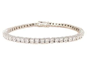 One-Row-Genuine-Diamond-Sterling-Silver-Tennis-Bracelet-7-Inch