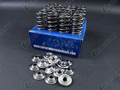 Supertech Valve Springs Titanium Retainers H22A