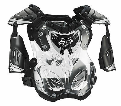 Fox Racing R3 Chest/Roost Guard/Protector Motocross Offroad Adult Youth MX Black