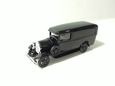 BUSCH Ford Model AA 1-Ton Panel Truck Black 1/87 HO Scale Vehicle NEW #47700