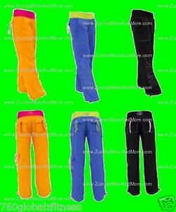Zumba-Logo-Cargo-Pants-NEW-In-3-different-colors