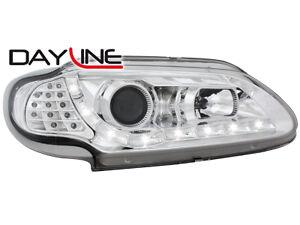 Renault-Megane-I-DRL-LED-Headlights-Dayline-chrome-2