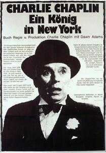 A King in New York Charlie Chaplin movie poster print | eBay