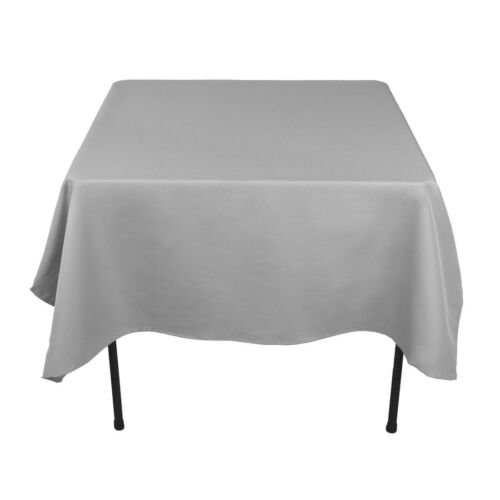"""30 Pack 90/""""x90/"""" Square Tablecloths Overlays 100/% Fine Polyester Wedding Catering"""