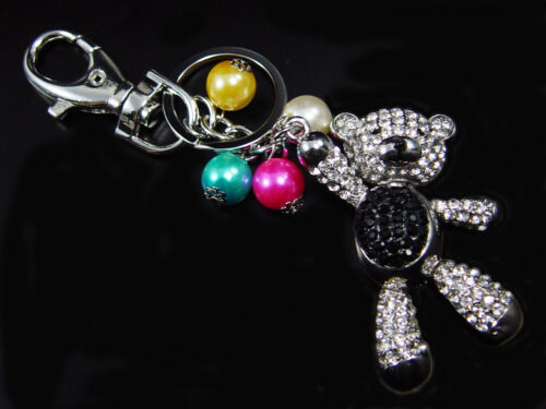 Schlüsselanhänger Teddybär Taschenanhänger mit Strass