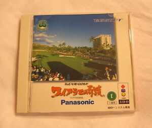 T-E-VR-Golf-3DO-Import-Game-in-Case-w-Instructions-Mint