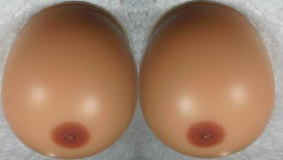 22 lbs 10kgs EXTREMELY LARGE Silicone Breast Forms Huge false Boobs Breasts (553