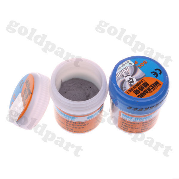 2pcs 35g MCN-300 Soldering Solder Paste 63/37 25-45um
