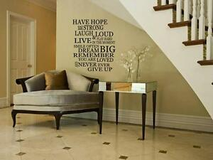 HAVE-HOPE-Home-Vinyl-Wall-Sticker-Decal-Words-Quote-Lettering-Stencil-36
