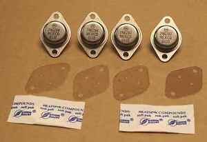 4-new-transistors-for-a-Rowe-AMI-CD-jukebox-amplifier-61024902-2N6287-amp-2N6284