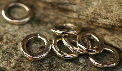 ONE Handmade 9mm Wide Faced Link in Sterling Silver -203s