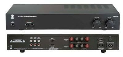 Pyle Home Audio PAMP1000 New 160 Watt Stereo Power Amplifier 110 220 Volts