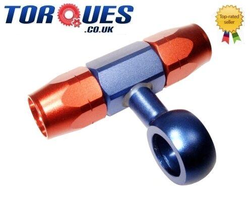 AN -6 (6AN AN6) Weber / Dellorto Carburettor Swivel Seal Hose Fitting Banjo Tee