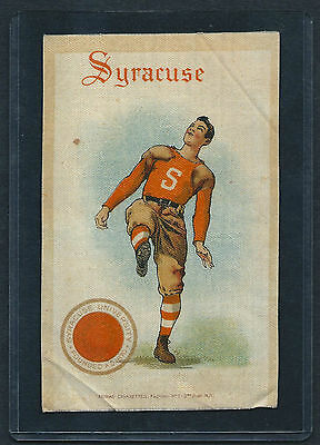 S22 SMALL MURAD TOBACCO SILK SYRACUSE FOOTBALL