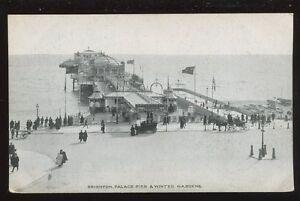 Sussex-BRIGHTON-Palace-Pier-and-Winter-Gardens-PPC