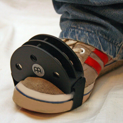 MEINL FOOT TAMBOURINE - IDEAL FOR CAJON - EXTRA PERCUSSION FOR SOLO PERFORMERS