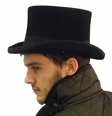 Campbell Cooper Brand New Mens Formal Oprea Event Ascot Riding Black Top Hat