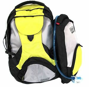 Coleman-MAX-38L-2-IN-1-Marsupial-Backpack-w-2L-Hydration-Pack-Black-Yellow