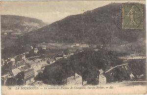 63-cpa-LA-BOURBOULE-Montee-du-plateau-de-Charlanne