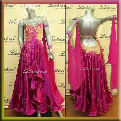 TANGO / WALTZ DRESS / BALLROOM / STANDARD DANCE DRESS SIZE S, M, L (ST101)