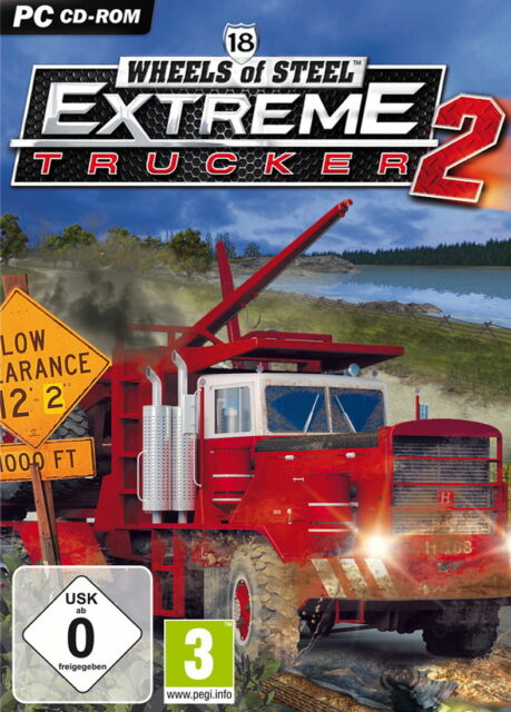 18 Wheels Of Steel: Extreme Trucker II (PC, 2011, DVD-Box)
