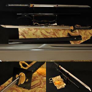 JAPANESE-NINJA-BATTLE-READY-SWORD-CHOKUTO-1095-Steel-Full-Tang-Blade-VERY-SHARP