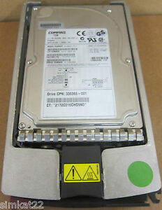 HP-hd0093172c-9-1-Go-10000tr-min-80PIN-ultra-3-large-3-5-pouces-SCSI-avec-caddy-serveur