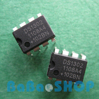 5pcs DS1302 DS 1302 N Trickle-Charge Timekeeping Chip Clock IC DIP-8 Brand New