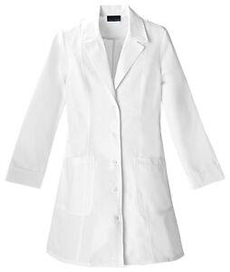 Scrubs-Cherokee-Womens-36-Notch-Collar-Lab-Coat-2410-FREE-SHIPPING