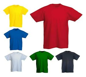 Boys-amp-Girls-Children-Premium-T-Shirts-Size-Age-2-to-13-Years-SCHOOL-LEISURE-306