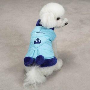 ESC-Royalty-Coat-Nylon-Dog-Jacket-XXS-Prince-Blue-NEW