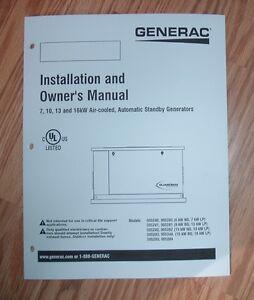 Generac Xp8000e repair manual