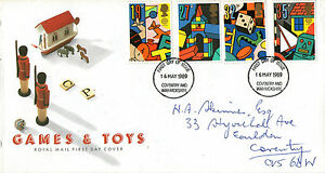 16-MAY-1989-TOYS-AND-GAMES-ROYAL-MAIL-FIRST-DAY-COVER-COVENTRY-FDI