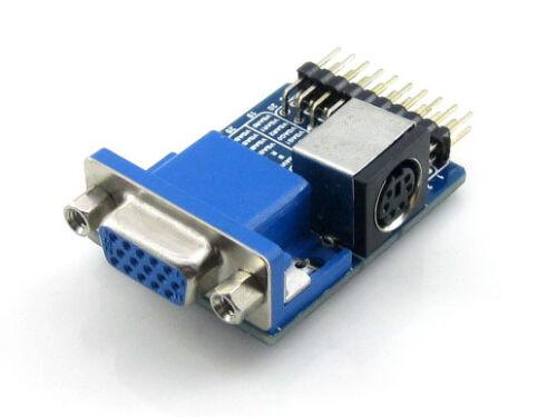 VGA PS2 Board Accessory Test Module for VGA + PS2 + Control Connector Interfaces