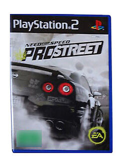 Need for Speed ProStreet (Sony PlayStation 2, 2007) complete with manual