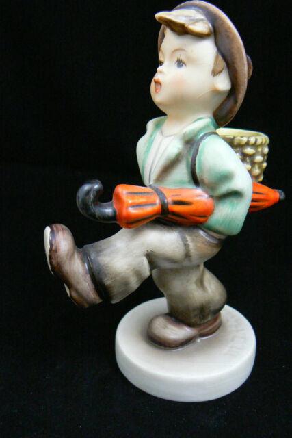 """Vintage Hummel Goebel Germany Porcelain Globe Trotter boy Figurine 5.25"""" # 79"""