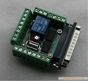 6-Axis-CNC-Stepper-Motor-Driver-Board-MACH3-Interface-Breakout-Board-Adapter