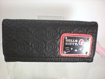 32d742ef84aa LOUNGEFLY HELLO KITTY QUILTED LONG WALLET SANW103